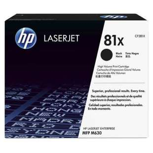 Original HP CF281X (81X) toner cartridge - high capacity black