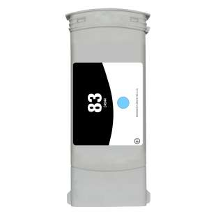 Remanufactured HP C4944A (HP 83 ink) high quality inkjet cartridge - light cyan