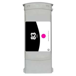 Remanufactured HP C4942A (HP 83 ink) high quality inkjet cartridge - magenta