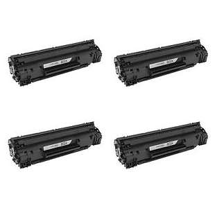HP Compatible Cartridge for HP CF283X (83X) toner cartridges - 4-pack