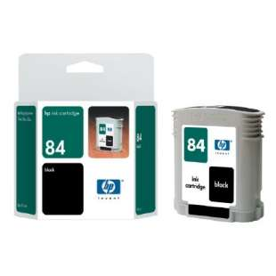 Original Hewlett Packard (HP) C5016A (HP 84 ink) high quality inkjet cartridge - black cartridge