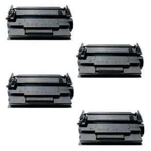 Compatible HP CF287A (87A) toner cartridges - 4-pack