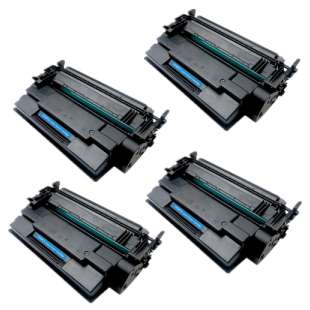 Compatible HP CF287X (87X) toner cartridges - 4-pack