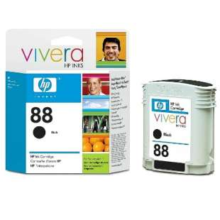 Original Hewlett Packard (HP) C9385AN (HP 88 ink) high quality inkjet cartridge - black cartridge