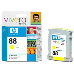 Original Hewlett Packard (HP) C9388AN (HP 88 ink) high quality inkjet cartridge - yellow