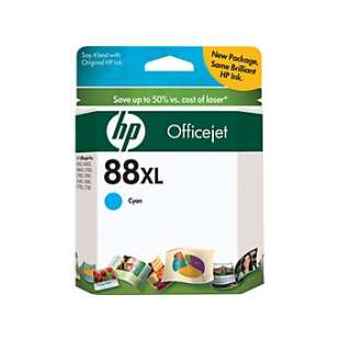 Original Hewlett Packard (HP) C9391AN (HP 88XL ink) high quality inkjet cartridge - high capacity cyan