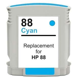 Remanufactured HP C9391AN (HP 88XL ink) high quality inkjet cartridge - high capacity cyan