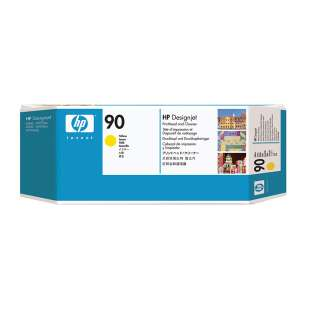 Original Hewlett Packard (HP) C5057A (HP 90) inkjet printhead/cleaner - yellow