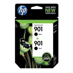 Original Hewlett Packard (HP) CZ075FN (HP 901 Black) Multipack - 2 pack