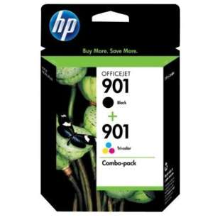 Original Hewlett Packard (HP) CN069FN (HP 901) Multipack - 2 pack
