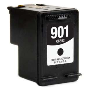 Remanufactured HP CC653A (HP 901 ink) high quality inkjet cartridge - black cartridge