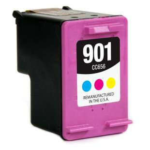 Remanufactured HP CC656AN (HP 901 ink) high quality inkjet cartridge - color cartridge