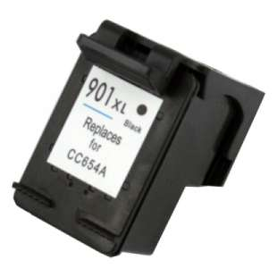 Remanufactured HP CC654AN (HP 901XL ink) high quality inkjet cartridge - high capacity black