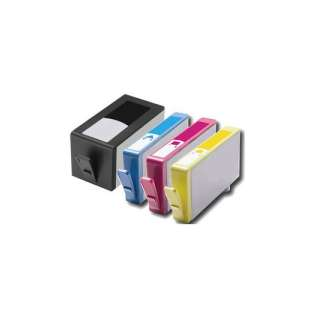 Remanufactured high quality inkjet cartridges Multipack for HP 902XL - 4 pack
