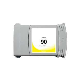 Remanufactured HP C5065A (HP 90XL ink) high quality inkjet cartridge - high capacity yellow