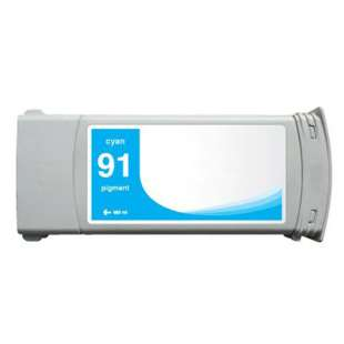 Remanufactured HP C9467A (HP 91 ink) high quality inkjet cartridge - cyan
