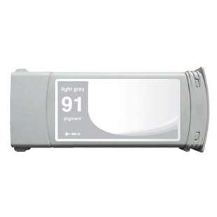 Remanufactured HP C9466A (HP 91 ink) high quality inkjet cartridge - light gray