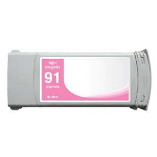 Remanufactured HP C9471A (HP 91 ink) high quality inkjet cartridge - light magenta