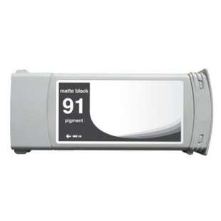 Remanufactured HP C9464A (HP 91 ink) high quality inkjet cartridge - matte black
