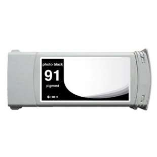 Remanufactured HP C9465A (HP 91 ink) high quality inkjet cartridge - photo black