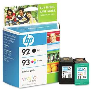 Original Hewlett Packard (HP) C9513FN (HP 92/93) Multipack - 2 pack