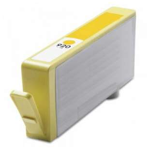 Remanufactured HP CH636AN (HP 920 ink) high quality inkjet cartridge - yellow
