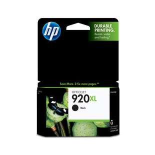 Original Hewlett Packard (HP) CD975AN (HP 920XL ink) high quality inkjet cartridge - high capacity black