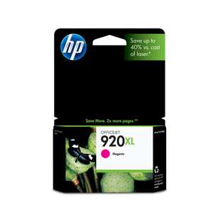 Original Hewlett Packard (HP) CD973AN (HP 920XL ink) high quality inkjet cartridge - high capacity magenta