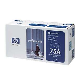 Original Hewlett Packard (HP) 92275A (75A) toner cartridge - black cartridge