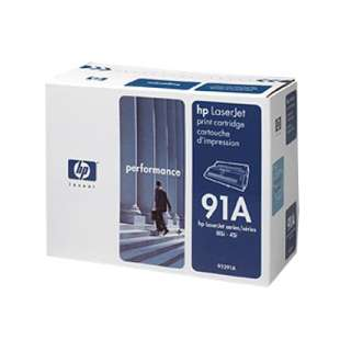 Original Hewlett Packard (HP) 92291A (91A) toner cartridge - black cartridge