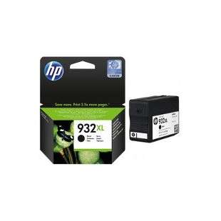 Original Hewlett Packard (HP) CN053AN (HP 932XL ink) high quality inkjet cartridge - black cartridge