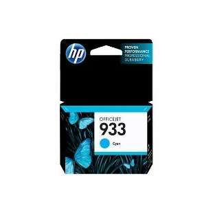Original Hewlett Packard (HP) CN058AN (HP 933 ink) high quality inkjet cartridge - cyan