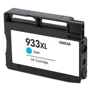 Remanufactured HP CN054AN (HP 933XL ink) high quality inkjet cartridge - high capacity cyan