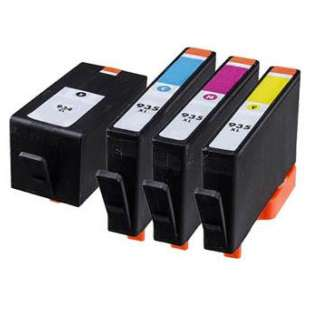 Remanufactured high quality inkjet cartridges Multipack for HP 934XL/935XL - 4 pack
