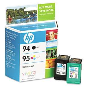 Original Hewlett Packard (HP) C9354FN (HP 94/95) Multipack - 2 pack