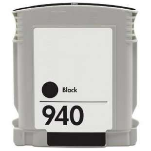 Remanufactured HP C4902AN (HP 940 ink) high quality inkjet cartridge - black cartridge