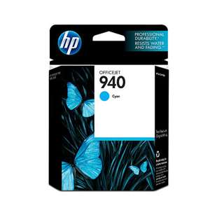 Original Hewlett Packard (HP) C4903AN (HP 940 ink) high quality inkjet cartridge - cyan
