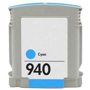 Remanufactured HP C4903AN (HP 940 ink) high quality inkjet cartridge - cyan
