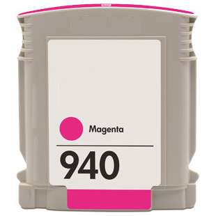 Remanufactured HP C4904AN (HP 940 ink) high quality inkjet cartridge - magenta