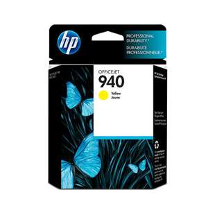 Original Hewlett Packard (HP) C4905AN (HP 940 ink) high quality inkjet cartridge - yellow