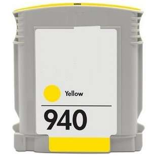 Remanufactured HP C4905AN (HP 940 ink) high quality inkjet cartridge - yellow