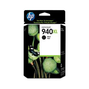 Original Hewlett Packard (HP) C4906AN (HP 940XL ink) high quality inkjet cartridge - high capacity black