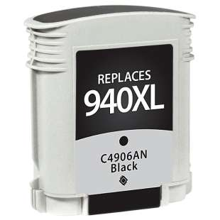 Remanufactured HP C4906AN (HP 940XL ink) high quality inkjet cartridge - high capacity black