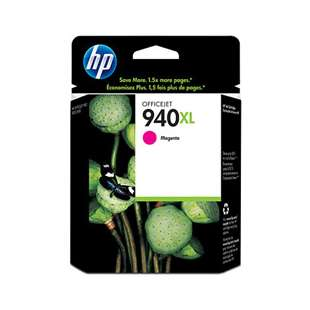 Original Hewlett Packard (HP) C4908AN (HP 940XL ink) high quality inkjet cartridge - high capacity magenta