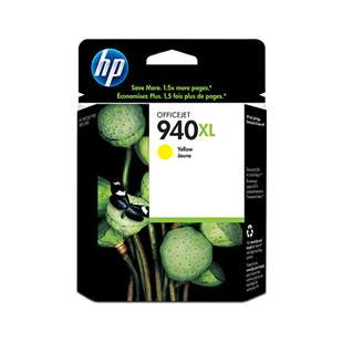 Original Hewlett Packard (HP) C4909AN (HP 940XL ink) high quality inkjet cartridge - high capacity yellow