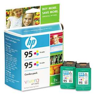 Original Hewlett Packard (HP) CD886FN (HP 95) Multipack - 2 pack