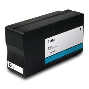 Remanufactured HP CN045AN (HP 950XL ink) high quality inkjet cartridge - high capacity black (FULL INK LEVEL SHOWN)