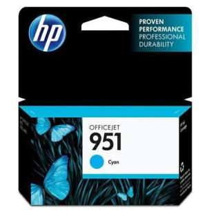 Original Hewlett Packard (HP) CN050AN (HP 951 ink) high quality inkjet cartridge - cyan