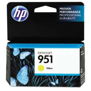 Original Hewlett Packard (HP) CN052AN (HP 951 ink) high quality inkjet cartridge - yellow