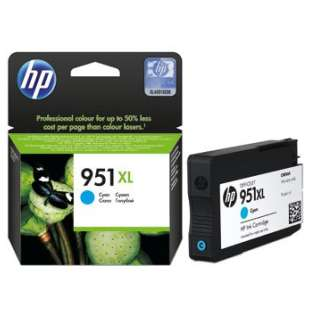 Original Hewlett Packard (HP) CN046AN (HP 951XL ink) high quality inkjet cartridge - cyan